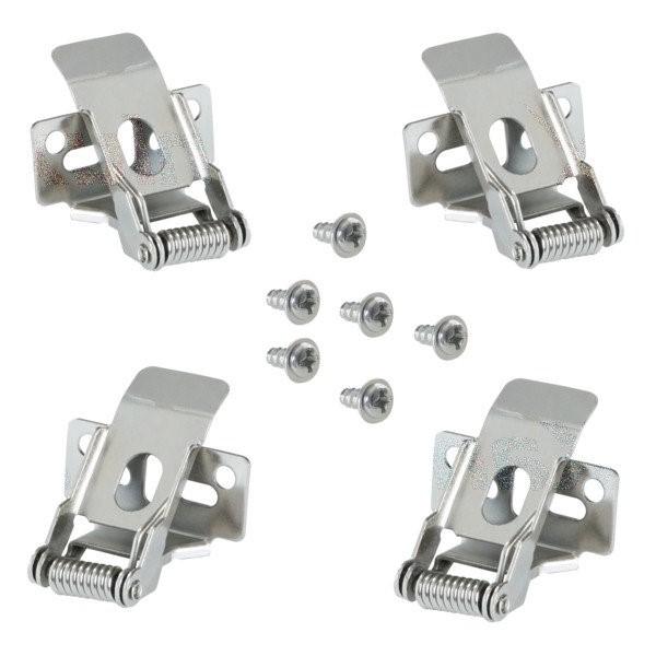 Zestaw 4 klipsów do montażu paneli LED