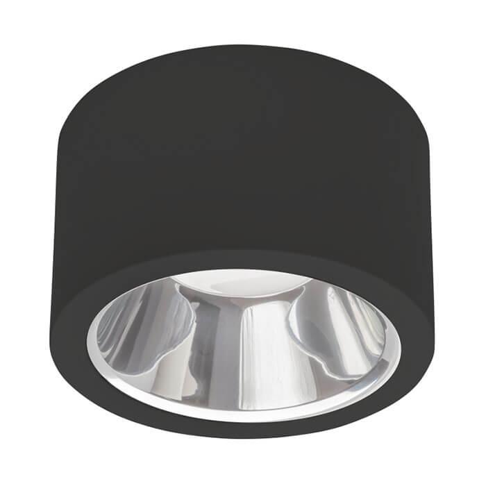 Oprawa LED downlight DRUM 25W czarny